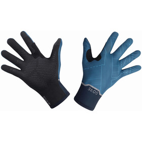 GORE WEAR Gore-Tex Infinium Guantes Medianos Flexibles, orbit blue/dynamic cyan